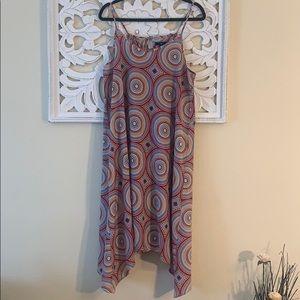 Gap Circle Print Multicolor Dress